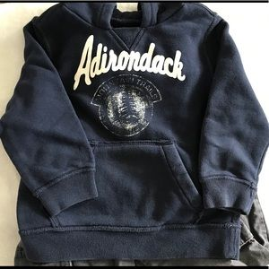 Children's place vintage inspired hoodie